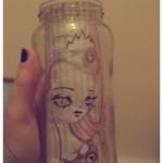 Missyucki doodle jar
